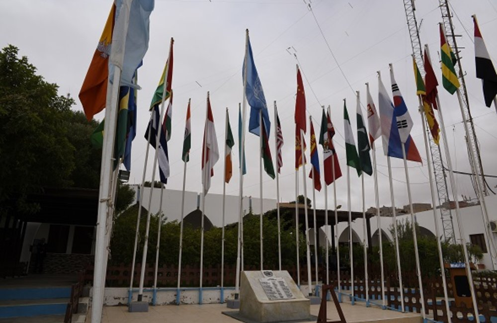 MINURSO celebrates UN Peacekeepers Day