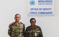 Arrival of New Deputy Force Commander to MINURSO