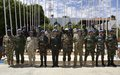 The United Nations commemorates the International Day of Peacekeepers