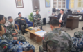 A Chinese military delegation visits MINURSO and holds a meeting with the SRSG and Head of the Mission